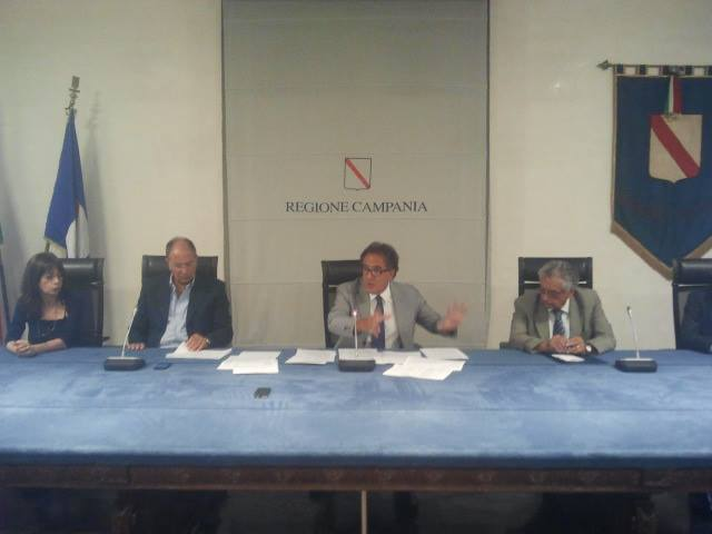 Sommese in conferenza stampa