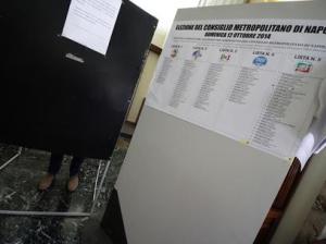 Città metropolitana: Napoli; in corso voto, affluenza costante