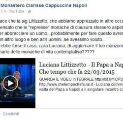 Suore di clausura su Facebook contro Littizzetto