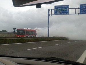 L'autobus in avaria