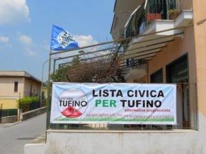 La sede di Lista civica per Tufino, in Corso Garibaldi