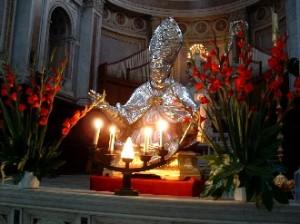 Il busto di San Paolino