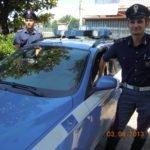 I due poliziotti della Stradale che sono intervenuti