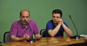 Enrico Montanaro (a destra) e Franco Scotto