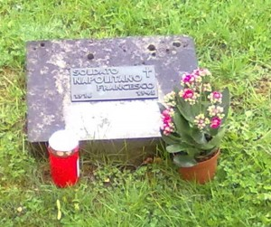 La sua tomba a Francoforte