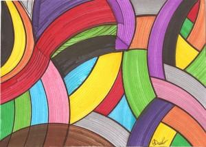 trama colorata