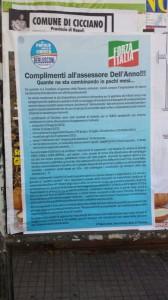 Il manifesto del Pd-Forza Italia