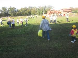 pulizia parco giochi 1