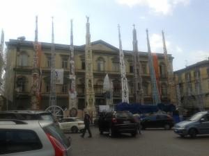 Piazza Duomo il 25 giugno scorso