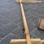 Giglio natalizio in costruzione (Alberto De Sena Ph)