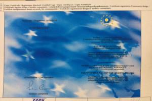 Il certificato del brevetto