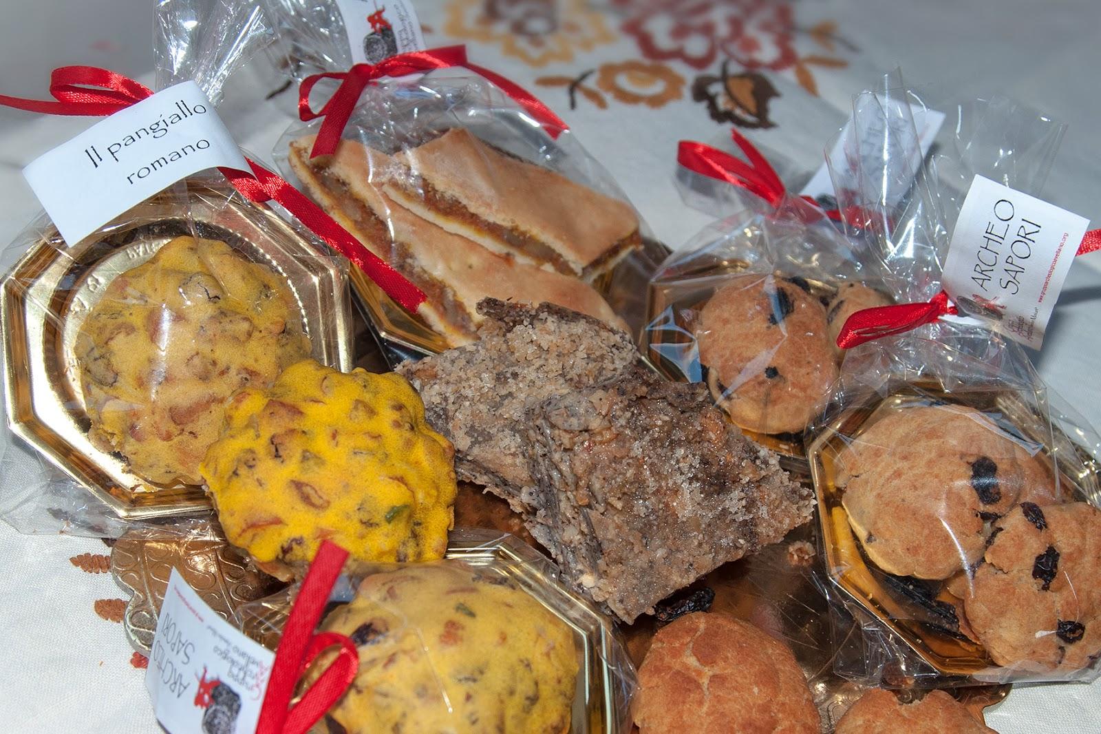 Pangiallo romano e lasagne etrusche ad avella l for Dolci tradizionali romani