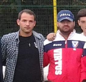 Mario Ardolino con Nello Lauro