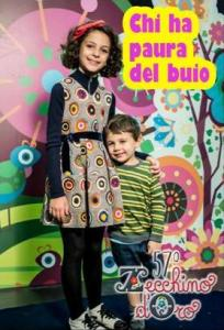 La piccola Angela Chianese con Edoardo Barchi