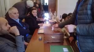 Foto scrutinio elezione componenti commissione paesaggistica Nola