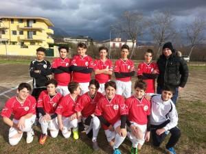 La squadra dei ragazzi dell'oratorio San Giovanni Battista