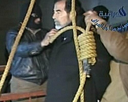video impiccagione saddam hussein