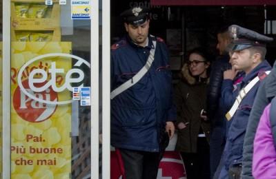 rapina supermercato etè
