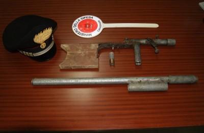 Caccia, fucile sequestrato in Irpinia