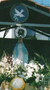 La statua di via Manzoni