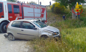 Incidente stradale Casalbore