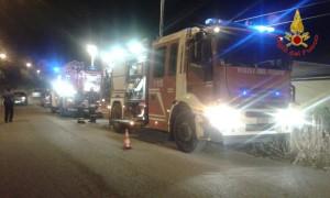 Incendio Savignano Irpino