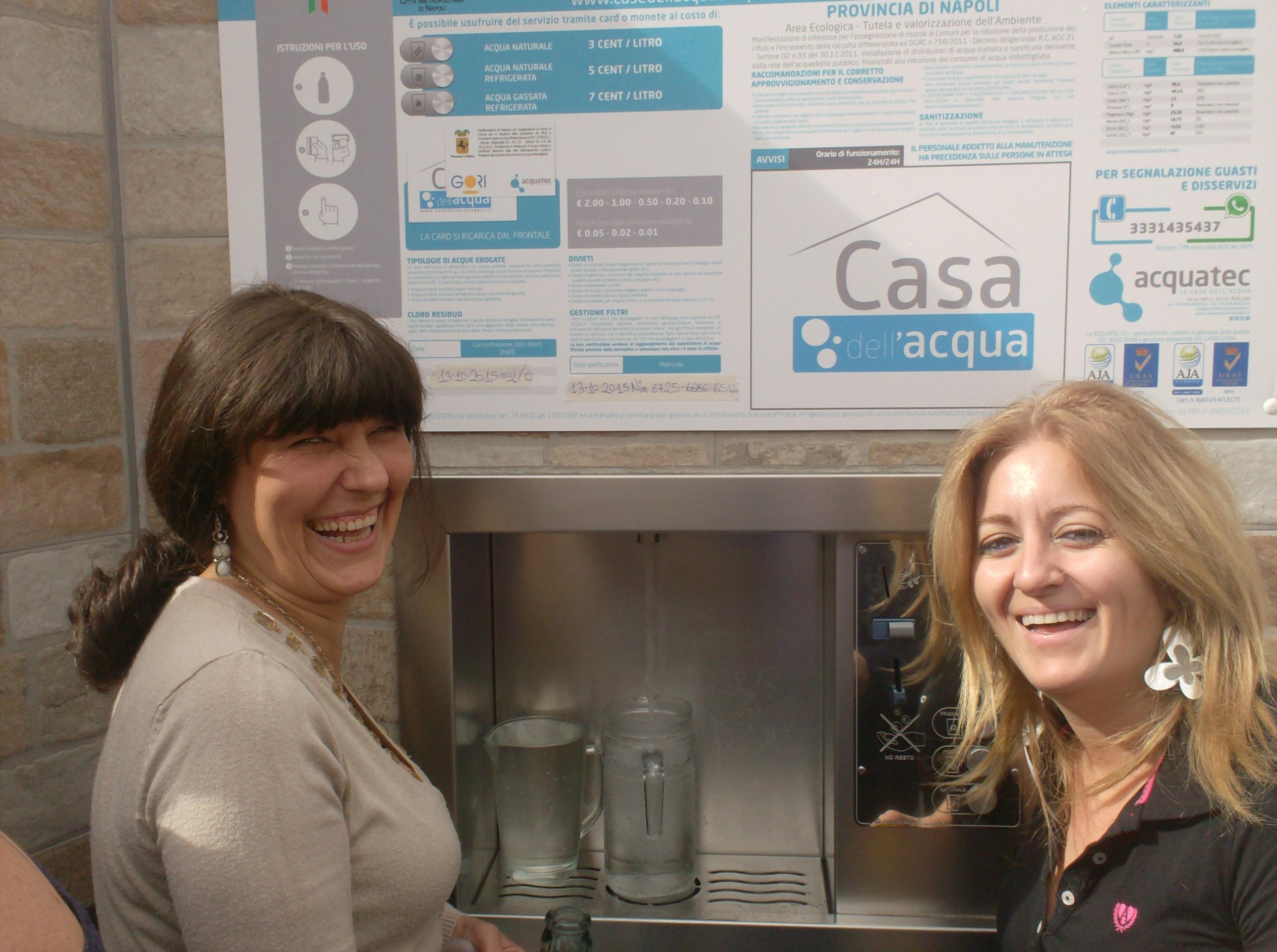 Anche nel vesuviano arriva la casa dell 39 acqua - Giusta pressione dell acqua in casa ...
