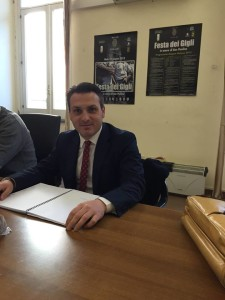 Il consigliere comunale Vincenzo Iovino