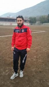 Francesco Romano, autore del primo gol