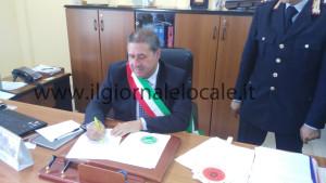 Il sindaco di Tufino  Francesco Espsoito