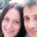Vincenzo con la moglie (fonte Corrierecaserta.it)