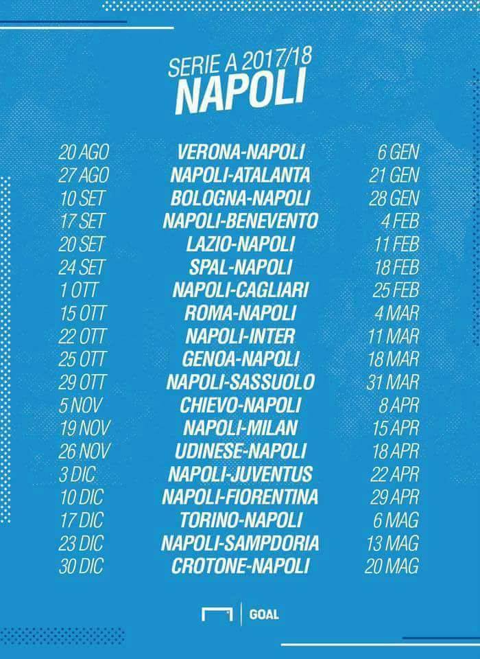 Calendario Serie A Con Risultati.Calendario Serie A Juventus Napoli Love And Hip Hop