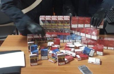 Contrabbando di sigarette, denunciato 61enne di Camposano