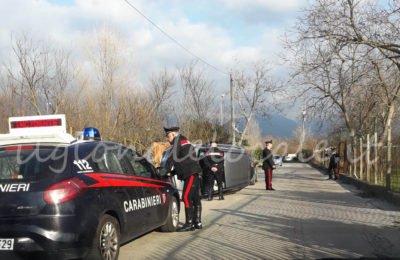 Incidente in via Spennata tra Cicciano e Comiziano: persona ferita