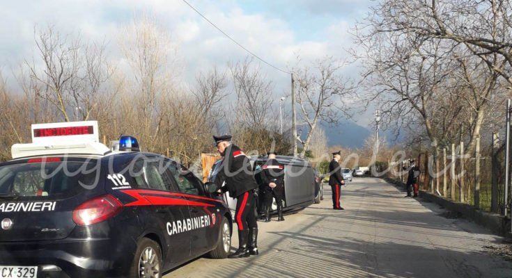 Incidente in via Spennata tra Cicciano e Comiziano: persona ferita