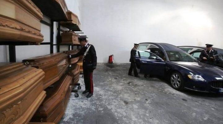 Inchiesta pompe funebri, carabinieri arrestano Alfonso Cesarano