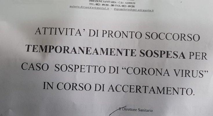 caso-sospetto-di-coronavirus-chiuso-pronto-soccorso-ospedale-santa-maria-capua-vetere