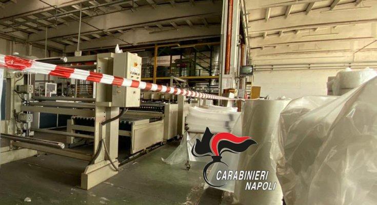 Rifiuti non tracciati e non stoccati, lavoro nero: denunce a Napoli e provincia