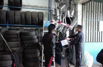Roccarainola, gestione illecita di rifiuti: denunciati titolari di officina e falegnameria
