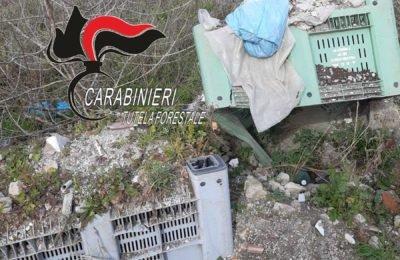 Pomigliano, scoperta e sequestrata discarica abusiva di 35mila metri quadrati