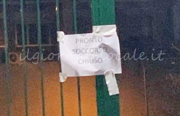 Nola, coronavirus: chiuso pronto soccorso ospedale, personale medico in quarantena