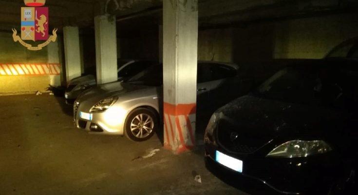 Ponticelli, polizia scopre un deposito di autovetture rubate
